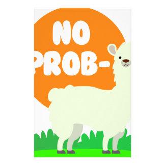 Papelería Ninguna Prob-Llama - la ninguna llama del problema