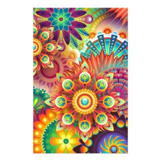 Papelería Nuevo fondo abstracto colorido
