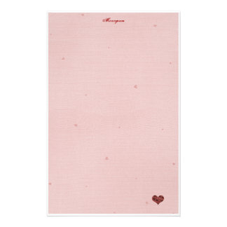 Papelería ¡Papel de letra de amor!