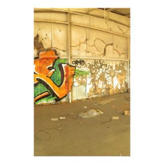 Papelería Pintada abandonada