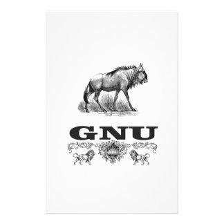 Papelería poder del gnu