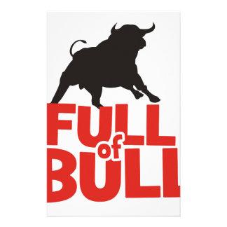 Papelería Por completo de Bull