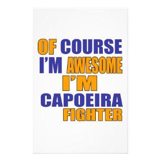 Papelería Por supuesto soy combatiente de Capoeira