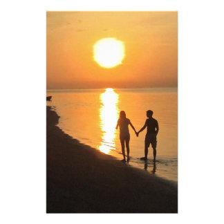 Papelería Puesta del sol en Bali