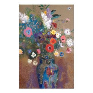Papelería Ramo de flores - Odilon Redon