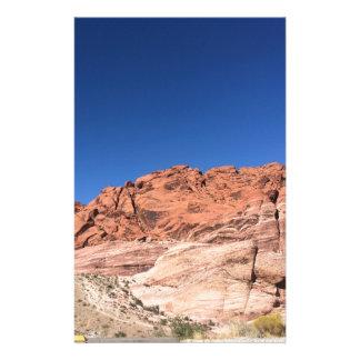 Papelería Rocas rojas y cielos azules