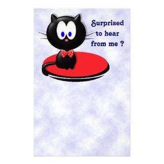 Papelería Sorpresa del gato negro