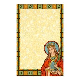 "Papelería St. Barbara (JP 01) 5,5"" x8.5"" #1b vertical"