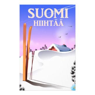 Papelería Suomi Hiihtää (Finlandia a esquiar)