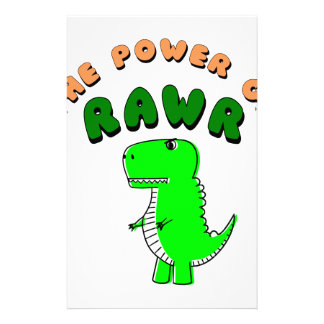 Papelería T-Rex el poder de RAWR