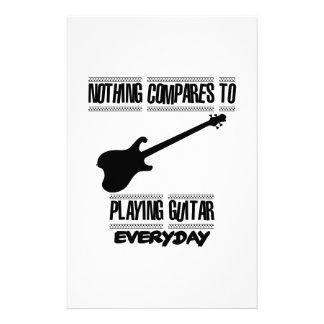 Papelería Tender diseños del guitarrista