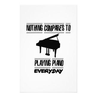 Papelería Tender diseños del pianista