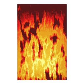 Papelería Textura del fuego