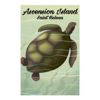 Papelería Tortuga de mar de la Isla de Ascensión