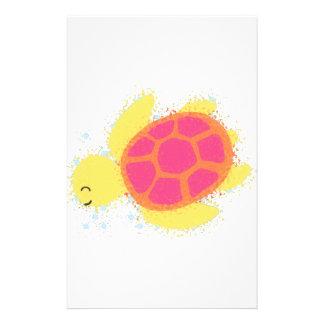 Papelería Tortuga de mar linda