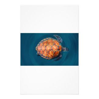 Papelería Tortuga de mar verde