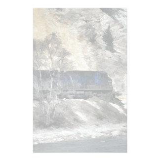 Papelería Tren del guardabosques de la montaña rocosa