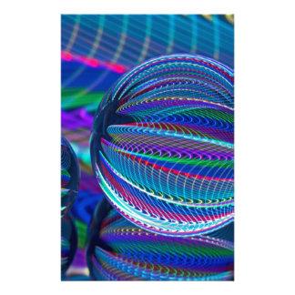 Papelería Tres bolas de cristal en color