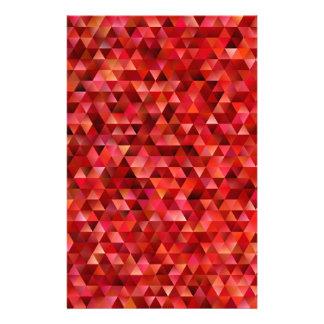 Papelería Triángulos sangrientos