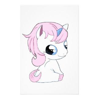 Papelería Unicornio del bebé