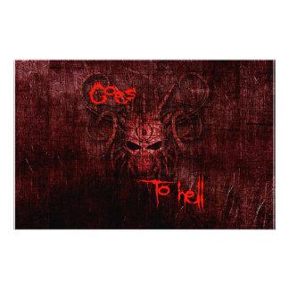 Papelería Va al infierno