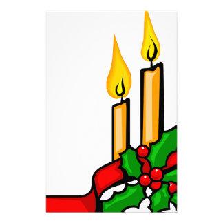 Papelería Velas del navidad