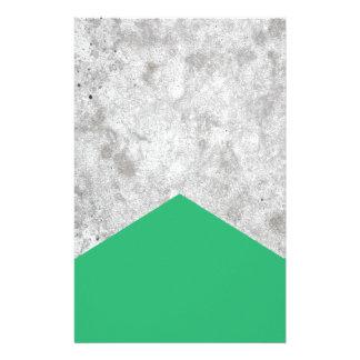 Papelería Verde concreto #175 de la flecha