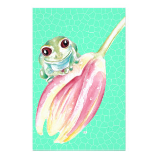Papelería Verde del Froggy