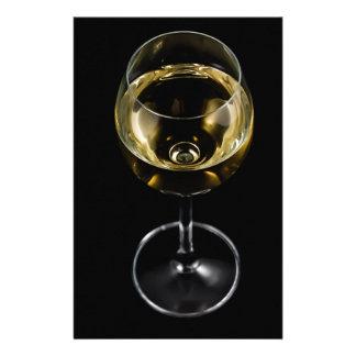 Papelería vidrio del champán