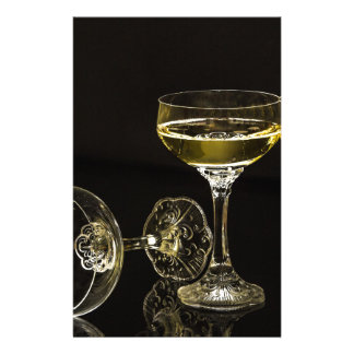Papelería vidrios del champán