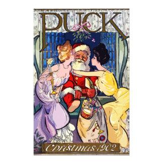 Papelería Vintage Papá Noel