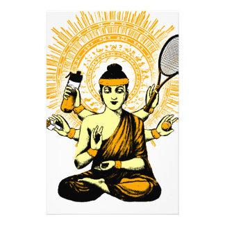 Papelería yoga tennis
