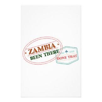 Papelería Zambia allí hecho eso
