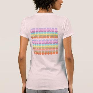 Papercraft colorido: Remiendo del punto del sacado Camisetas