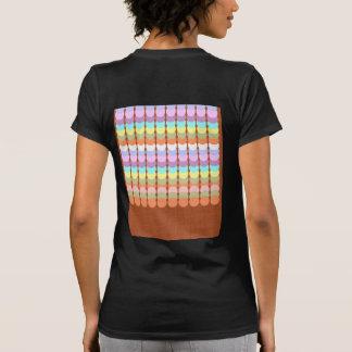 Papercraft colorido Remiendo del punto del sacado Camisetas