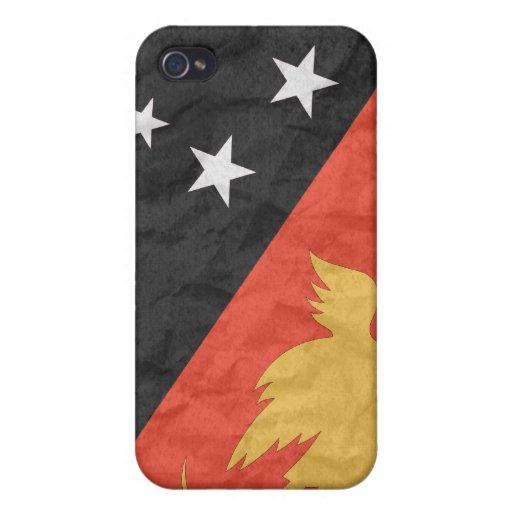 Papúa Nueva Guinea iPhone 4/4S Fundas