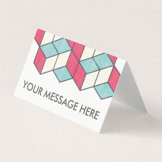Paquete de la tarjeta del rompecabezas con el