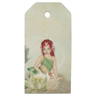 Paquete de las etiquetas del regalo de la sirena