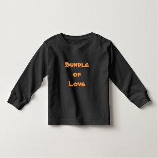 PAQUETE de ropa del bebé de las camisetas de las