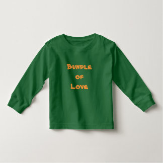 PAQUETE de ropa del bebé de las camisetas del niño