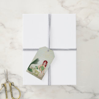 Paquete de Taks del regalo de la sirena de 10 Etiquetas Para Regalos