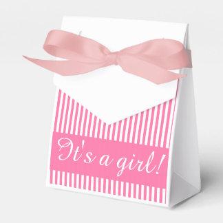Paquete del regalo, plantilla de encargo rayada caja para regalos