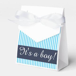 Paquete del regalo, plantilla de encargo rayada cajas para regalos de fiestas