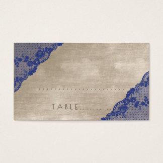 Paquete en colores pastel de marfil del lugar del tarjeta de negocios