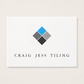 Paquete limpio y profesional de tarjetas de visita