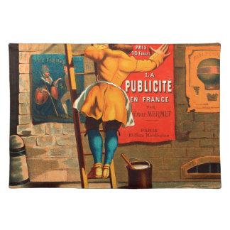 Par Emilio Mermet del en Francia del publicité del Mantel Individual