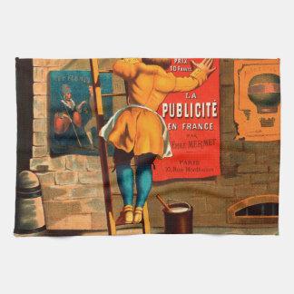 Par Emilio Mermet del en Francia del publicité del Toallas De Cocina