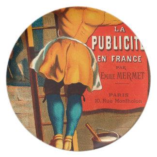 Par Emilio Mermet del en Francia del publicité del Platos Para Fiestas