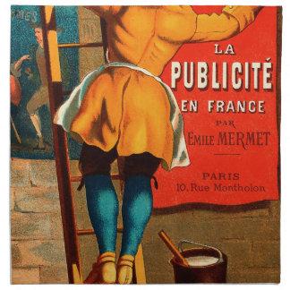 Par Emilio Mermet del en Francia del publicité del Servilleta