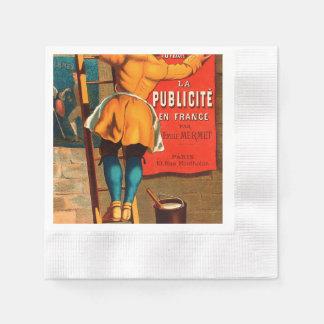 Par Emilio Mermet del en Francia del publicité del Servilleta De Papel